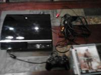 I'm selling my Playstation 3 with a controller,