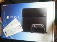 Up for sale is a new, factory sealed Sony Playstation 4