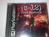 PlayStation Game (c-12) Final Resistance. Comes with