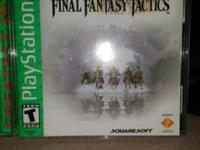 PlayStation games: Final Fantasy Tactics - $30 Final