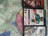 3   GAMES. OF PLAYSTATION 2 .$ 5 All 3 MEMORY