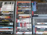 Sony PS3 Items = Fifty-Eight Games (40) Complete (11)