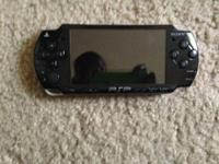 PSP is in good condition with minimal scratches. It is