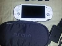 Play station vita in perfect condition, rarely used.