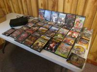 i have for sale a PlayStation 2 and 43 used games they