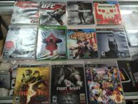 UP FOR SALE IS FEW ITEMS  $20 games (All PS3) UFC