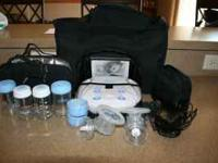 I'm selling a used electric breast pump. I bought this