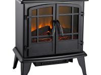 This Pleasant Hearth 20 in. Electric Stove is ideal for