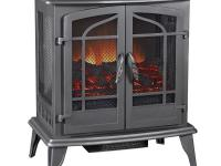 The Pleasant Hearth 25 in. Vintage Iron Panoramic