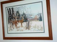 Beautifully framed Pleasant Ridge Monarch by Greg
