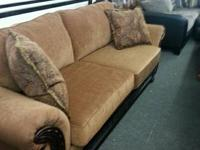 NEW DARK. BROWN SECTIONALS 499.00 NEW COUCH AND SEAT