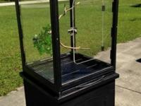FOR SALE: I HAVE TWO LARGE PLEXIGLASS BIRD CAGES FOR