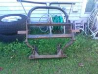 PLOW MOUNT (MOUNT ONLY) See first pic. $ 250.00 George