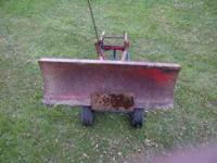 Wheelhorse plow for sale. $200 Or Best Offer. Call .