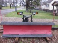 i am selling a westren plow this is a 7 in a half plow