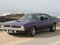 1970 Hemi Cuda Re-creation, Custom Built 426 Hemi