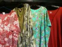 Clothes plus sizes 24-26 pants, 3x-4x Tops,Jackets