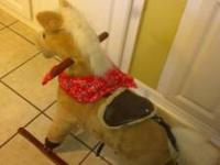 Used PLUSH KIDDIE ROCKING HORSE it looks like the one