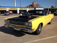 1969 Plymouth Road Runner A12 Conversion 440 Six Pack