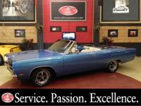Offered for sale is a gorgeous 1969 Plymouth Sport