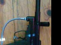 Paintball gun near mint new hose and newly lubed id