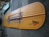 folding boat extremely stable works great for fishing,