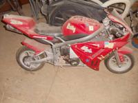 Red pocket rocket $100. Runs but needs some work. If it