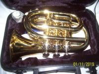I HAVE TWO NEW POCKET TRUMPETS-- BEAUTIFUL LITTLE