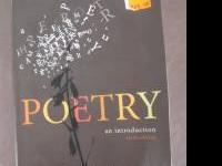 Poetry an introduction. Michael Meyer sixth edition