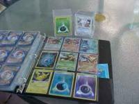 I have 20 pages of pokemon cards and 1 full plastic