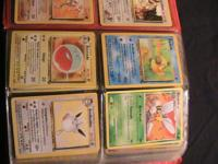 Offering Pokmon cards not PSA inspected however in
