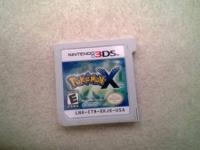 I have a Poke'Mon X for Nintendo 3DS for sale If