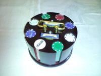 Mahoganny poker chip rack(classy professional model)