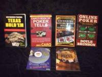 GREAT SET - 2 POKER DVD'S AND 4 BOOKS 1) CARO'S PRO