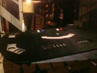 Poker Table Seats 8 Asking price $75. Please Contact