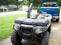 2013 Polaris 550 Fuel Injected 4 wheeler. It has never