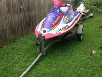 I have a Polaris SL750 Jet Ski for sale. There is