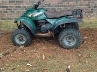 I have a Polaris explorer 300 2 stroke 4x4. The four