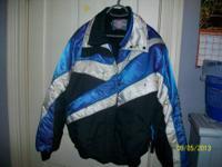 Women's size XL Polaris Indy snowmobile jacket worn