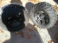 POLARIS NEW WHEELS & TIRES. I HAVE A SET OF 4 NEW TIRES