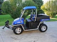 2008 Polaris Ranger XP 700 EFI side by side sport