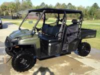 YOU ARE LOOKING AT A 2011 POLARIS RANGER CREW CAB. SEE