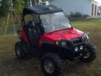 Up forsale is a 2012 RZR S 800. It has 70 hours and 520