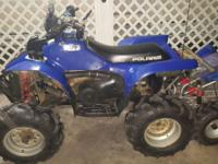 Polaris scrambler 400 4x4 with clear title and low gear