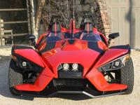 The first time you see the Polaris Slingshot coming at
