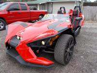 LOOK at this super sharp Polaris Slingshot this thing