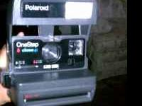 Sellin my Polaroid 600 square shooter. Text  Location: