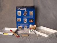 Polaroid emulsion and imaging transfer kit. Let your