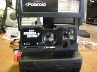 Polaroid 600 Business Edition 2 Instant Camera. Used.