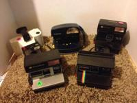 hey there, i've got some polaroid instant film cameras